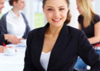 Kobieta – menedżer sprzedaży