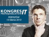 Kongres Profesjonalistów IT- O nowych trendach i rozwiązaniach technologicznych