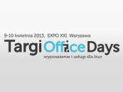 TARGI OFFICE DAYS – dni, które odmienią twoje biuro