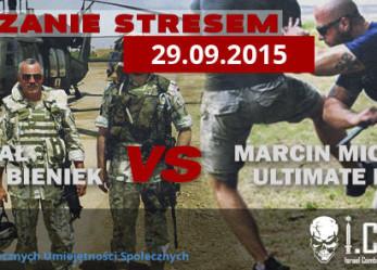 Zarządzanie stresem- Gen. Broni Mieczysław Bieniek versus Marcin Michalik Lipka (Krav Maga)