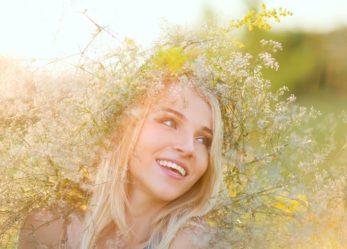 Chłodny blond na gorące lato